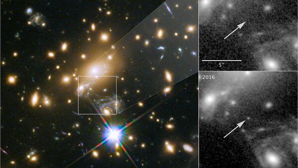 Звезда Икар, MACS J1149 LS1, пока самое далекое светило мироздания