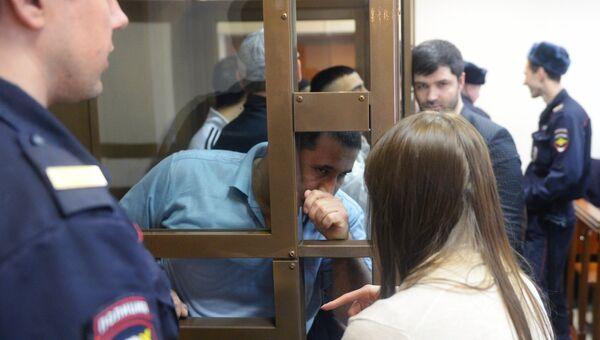 Обвиняемые по делу о теракте в метро Санкт-Петербурга на заседании Мосгорсуда. Архивное фото