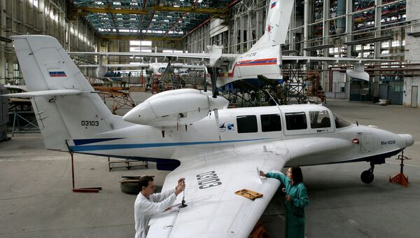 Таганрогский авиационный научно-технический комплекс имени Г.М. Бериева. Архивное фото
