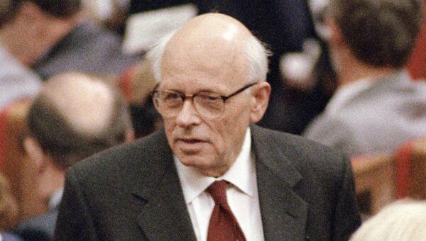 Академик Андрей Сахаров на заседании I съезда народных депутатов СССР