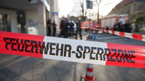 Полицейские рядом в Германии