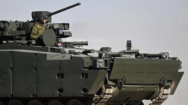 Боевая машина пехоты на гусеничной платформе Курганец-25