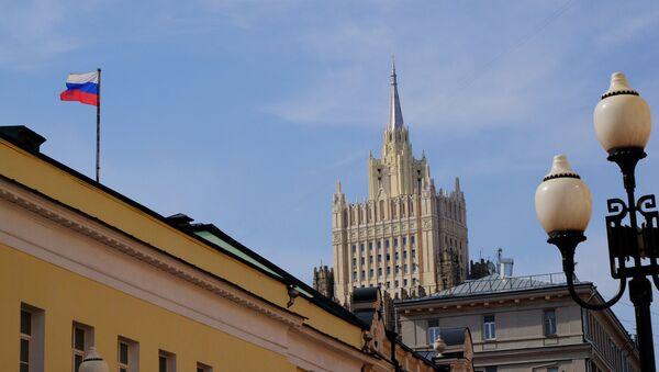 Здание министерства иностранных дел. Архивное фото