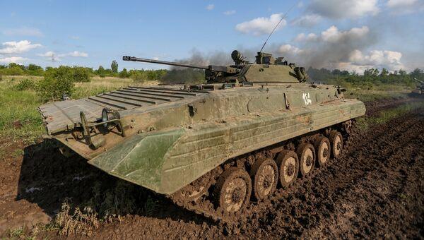 Боевая машина пехоты БМП-1. Архивное фото