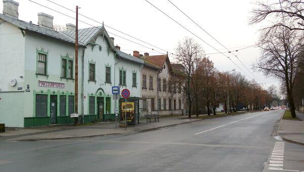 Улица Бикерниеку в Риге