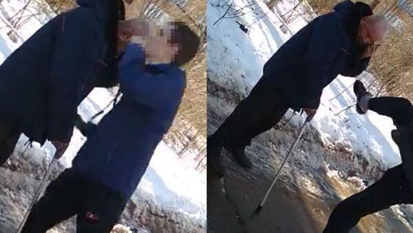 Нападение подростков на мужчину на центральной улице города Кирово-Чепецк