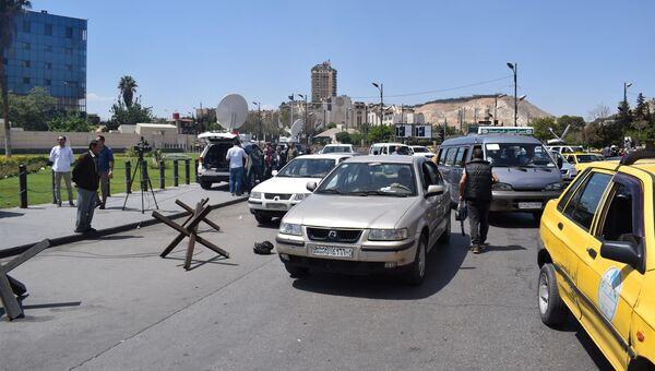 Ситуация в Дамаске. 14 апреля 2018