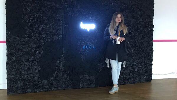 Работа сотрудника Дизайн-центра МИА Россия сегодня Ирины Борисовой, получившая приз биеннале Дизайн NEXT. Дизайн от идей до прототипов в категории Интерактивный дизайн