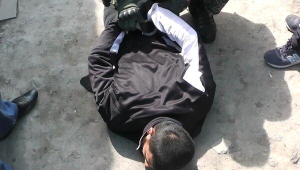 Задержание сотрудниками ФСБ РФ членов международной террористической организации. Архивное фото