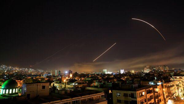Удар коалиции в Дамаске. Архивное фото