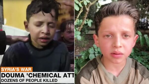 Сирийский мальчик Хасан Диаб
