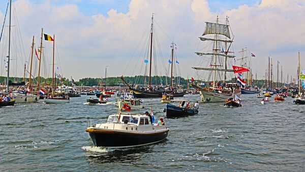 Парад судов SAIL Amsterdam
