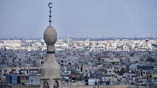 Пригород Дамаска. Архивное фото