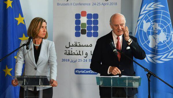 Конференция Поддержка будущего Сирии и региона в Брюсселе. 24 апреля 2018