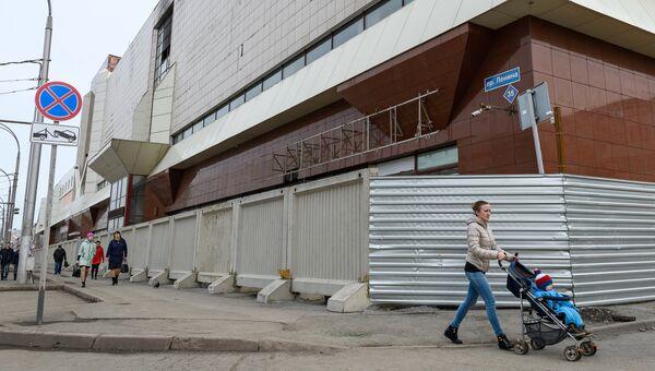 Здание торгово-развлекательного центра Зимняя вишня в Кемерово