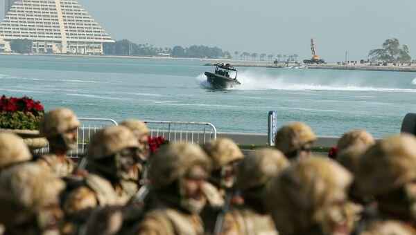 Катарские военные. Архивное фото