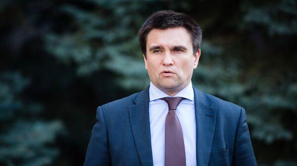 Климкин призвал к секторальным санкциям против России
