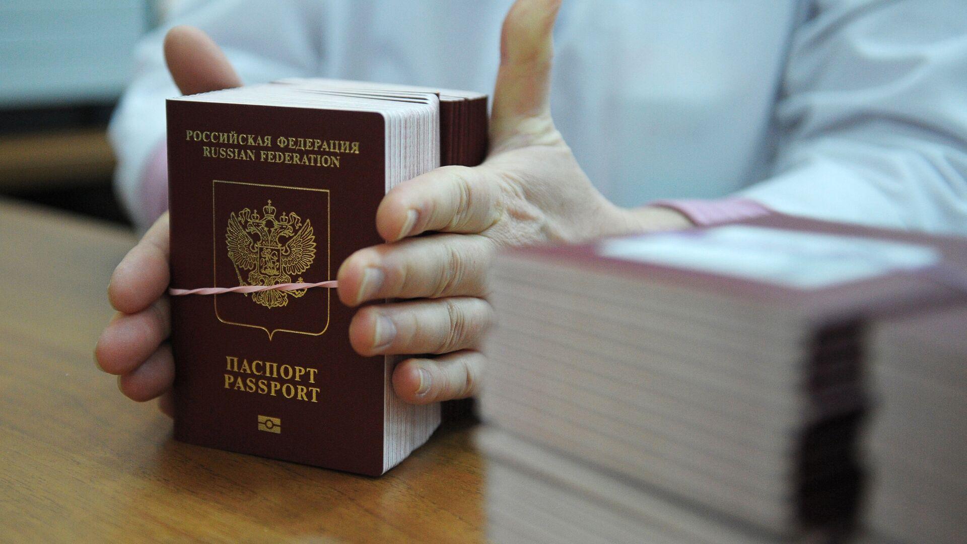 Биометрические заграничные паспорта граждан РФ - РИА Новости, 1920, 06.01.2021