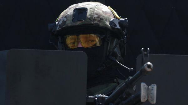 Сотрудник подразделения спецназначения. Архивное фото