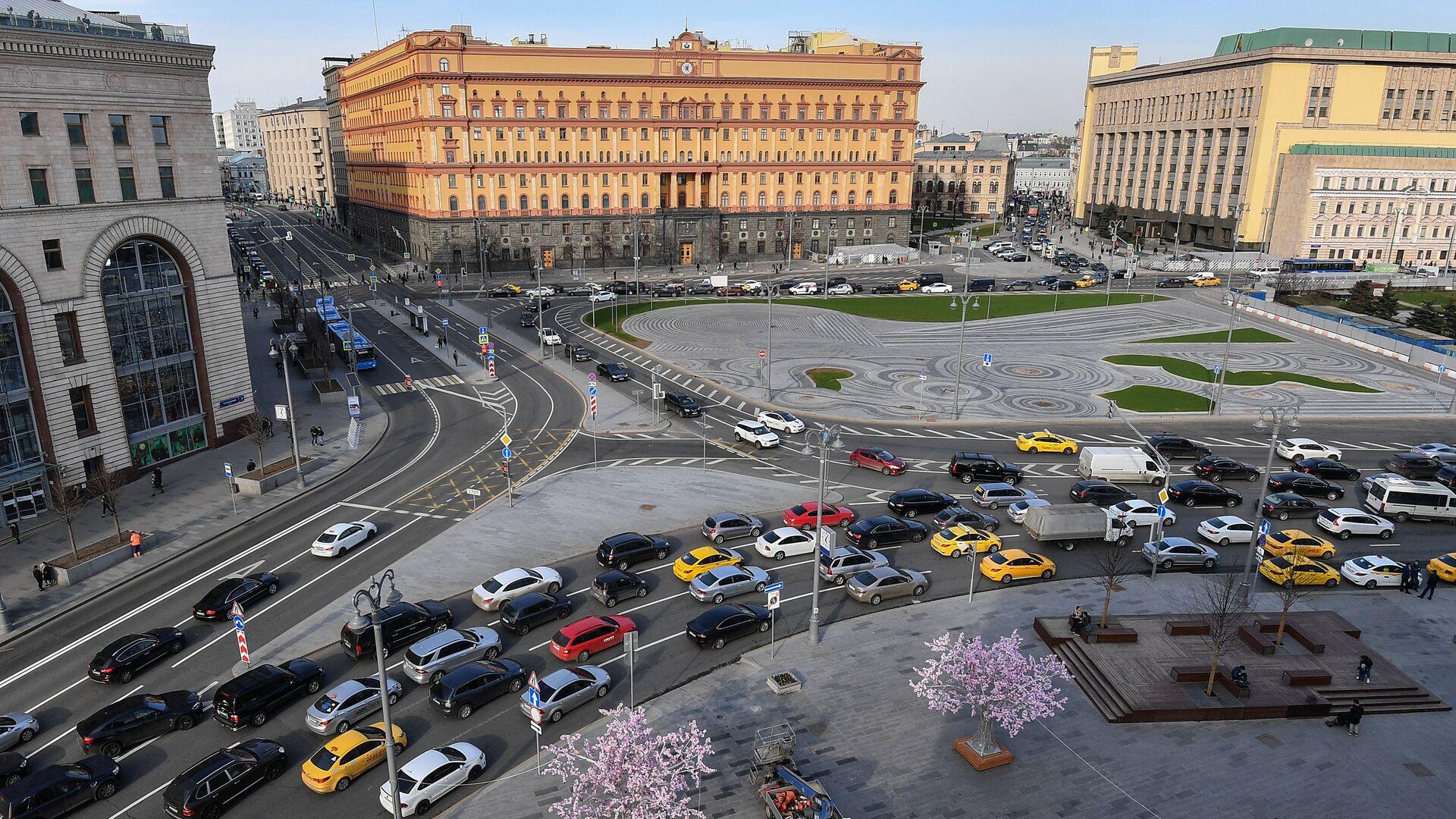 Лубянская площадь в Москве - РИА Новости, 1920, 26.02.2021