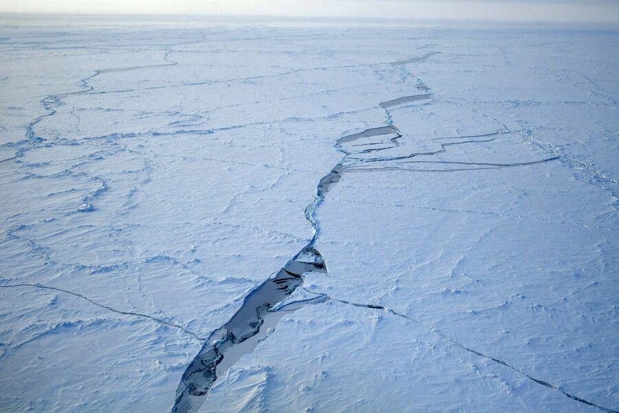 На Северном полюсе
