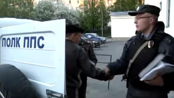 Задержание грабителя ломбарда Золотой слон сотрудниками ГУ МВД по Екатеринбургу