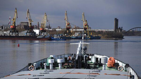 Рыбинский грузовой порт