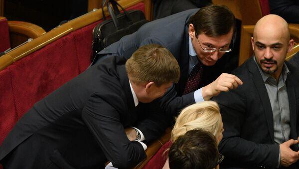 Мустафа Найем на заседании Верховной рады Украины