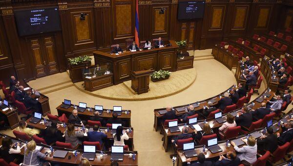 В парламенте Армении. Архивное фото
