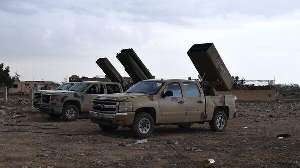 Сирийские военнослужащие