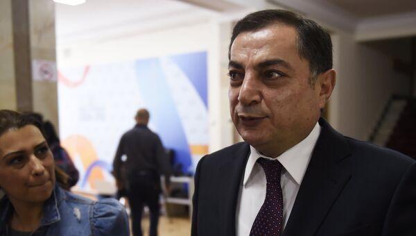 Лидер парламентской фракции Республиканской партии Армении (РПА) Ваграм Багдасарян. Архивное фото