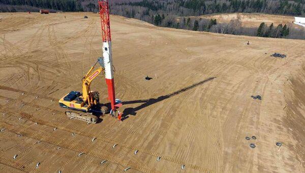 Подготовка территории подмосковного полигона Ядрово в Волоколамске к дегазации. Архивное фото