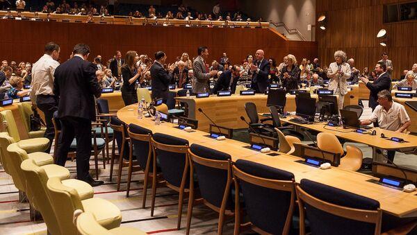 Показ фильма Собибор в ООН. 4 мая 2018