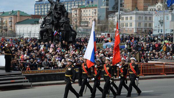 Празднование Дня Победы во Владивостоке. 9 мая 2018