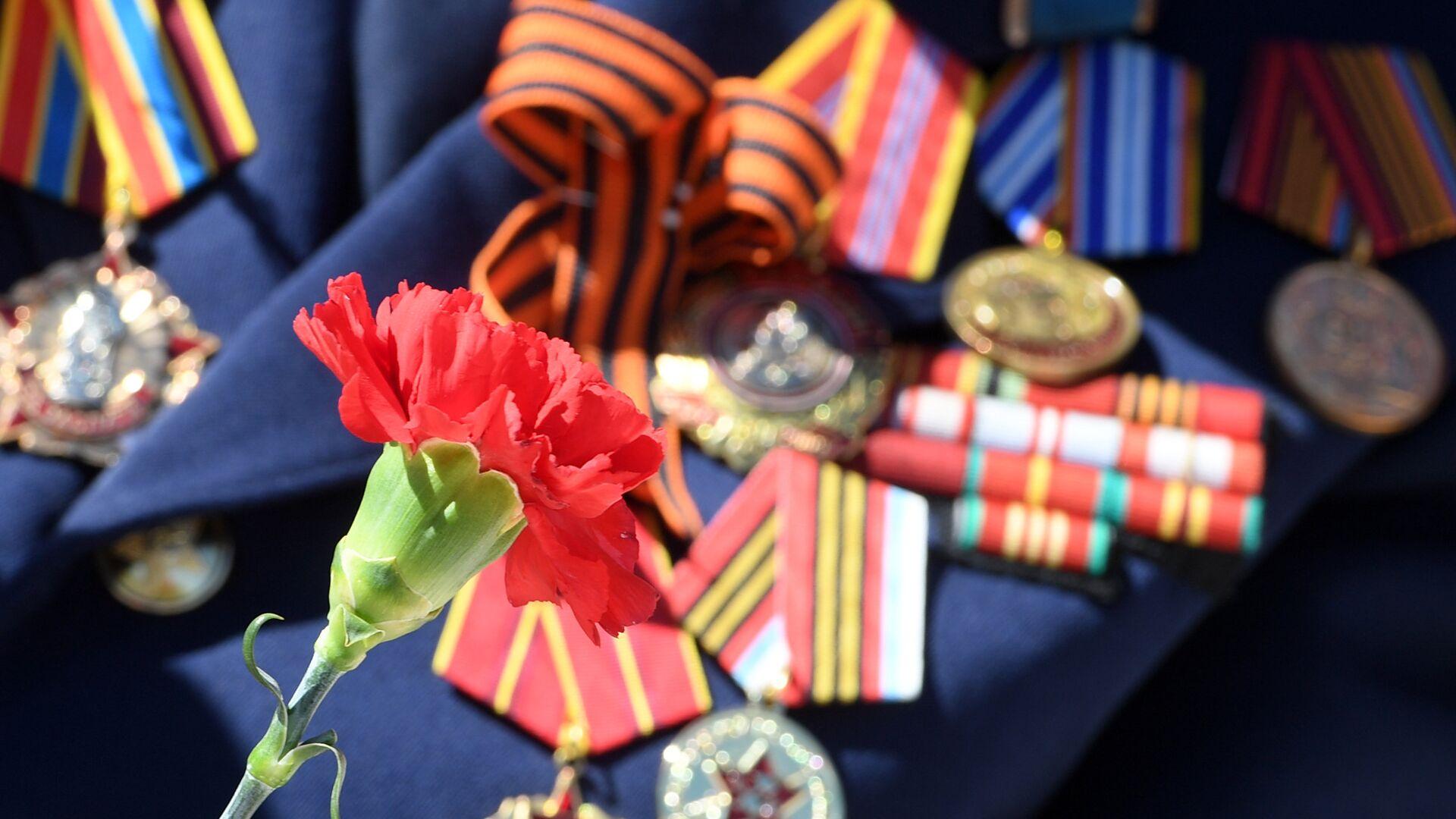 Китель с медалями ветерана Великой Отечественной войны - РИА Новости, 1920, 24.02.2021