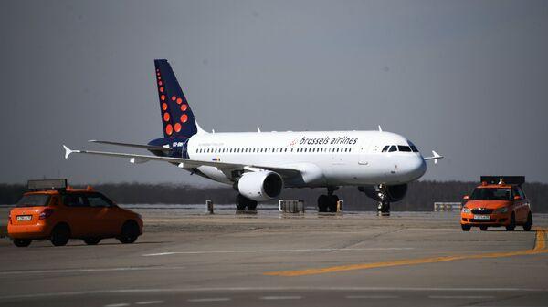 Самолет авиакомпании Brussels Airlines