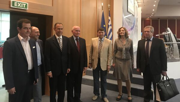 Участники 4-й Международной афинской конференции ко Дню Победы