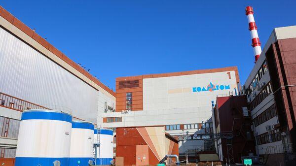 Кольская атомная электростанция в Полярнозоринском районе Мурманской области