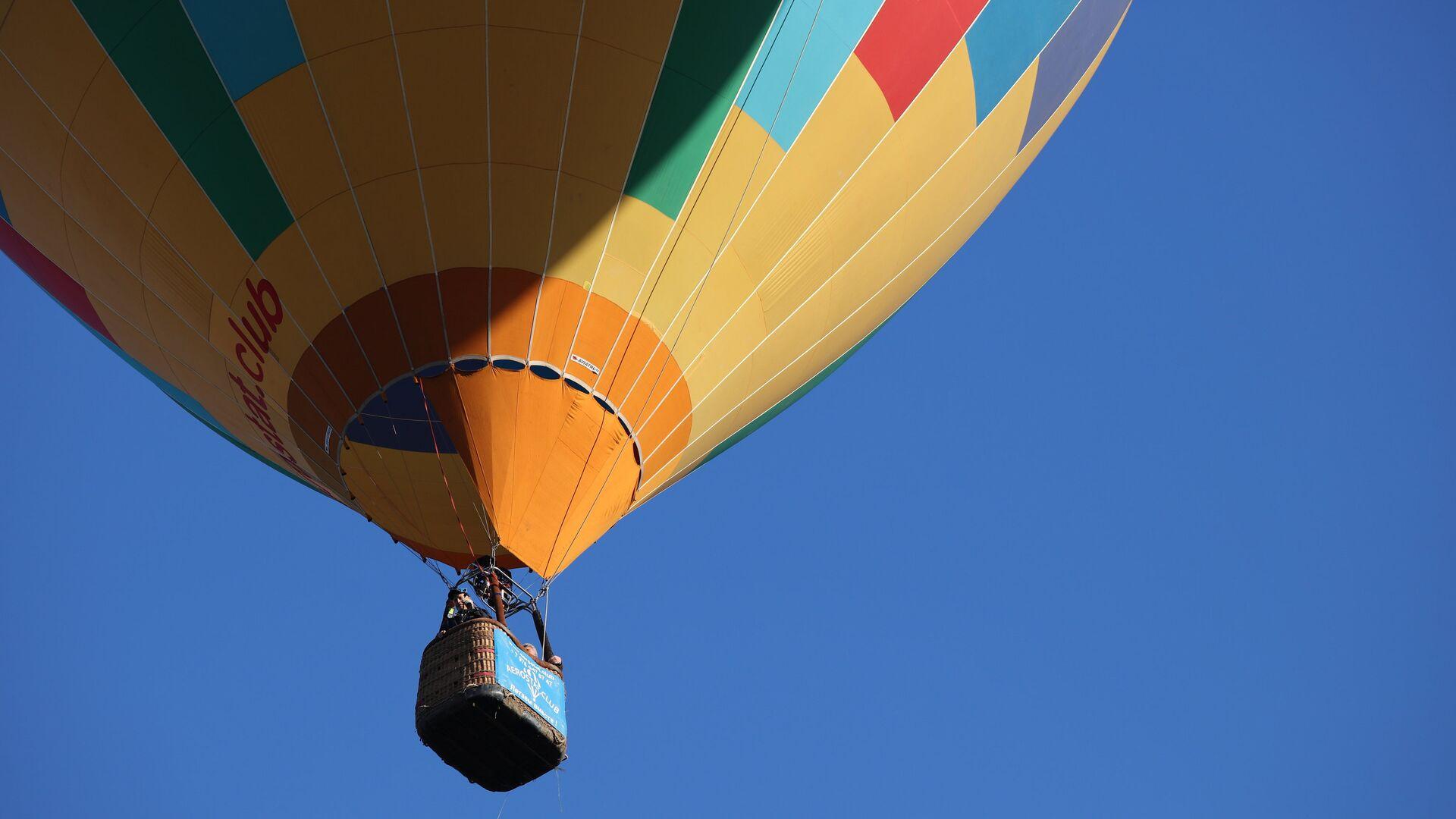 Воздушный шар на фестивале воздухоплавания Абинская Ривьера в Абинском районе Краснодарского края - РИА Новости, 1920, 24.05.2021