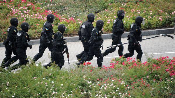 Бойцы спецподразделения СБУ. Архивное фото
