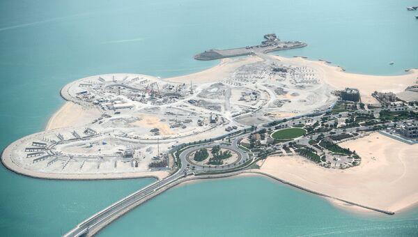 Вид на побережье в Дохе. Архивное фото