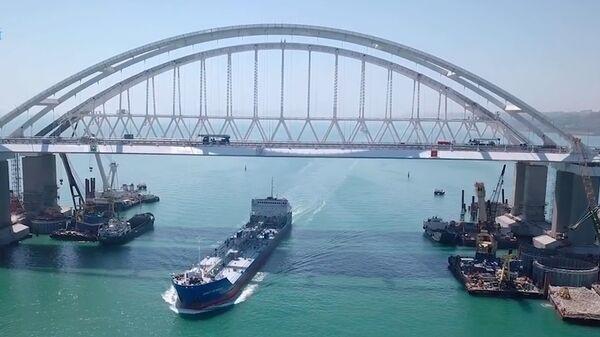 Как строили Крымский мост. Ускоренная видеоверсия