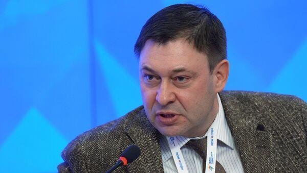 Главный редактор сайта РИА Новости Украина Кирилл Вышинский. Архивное фото