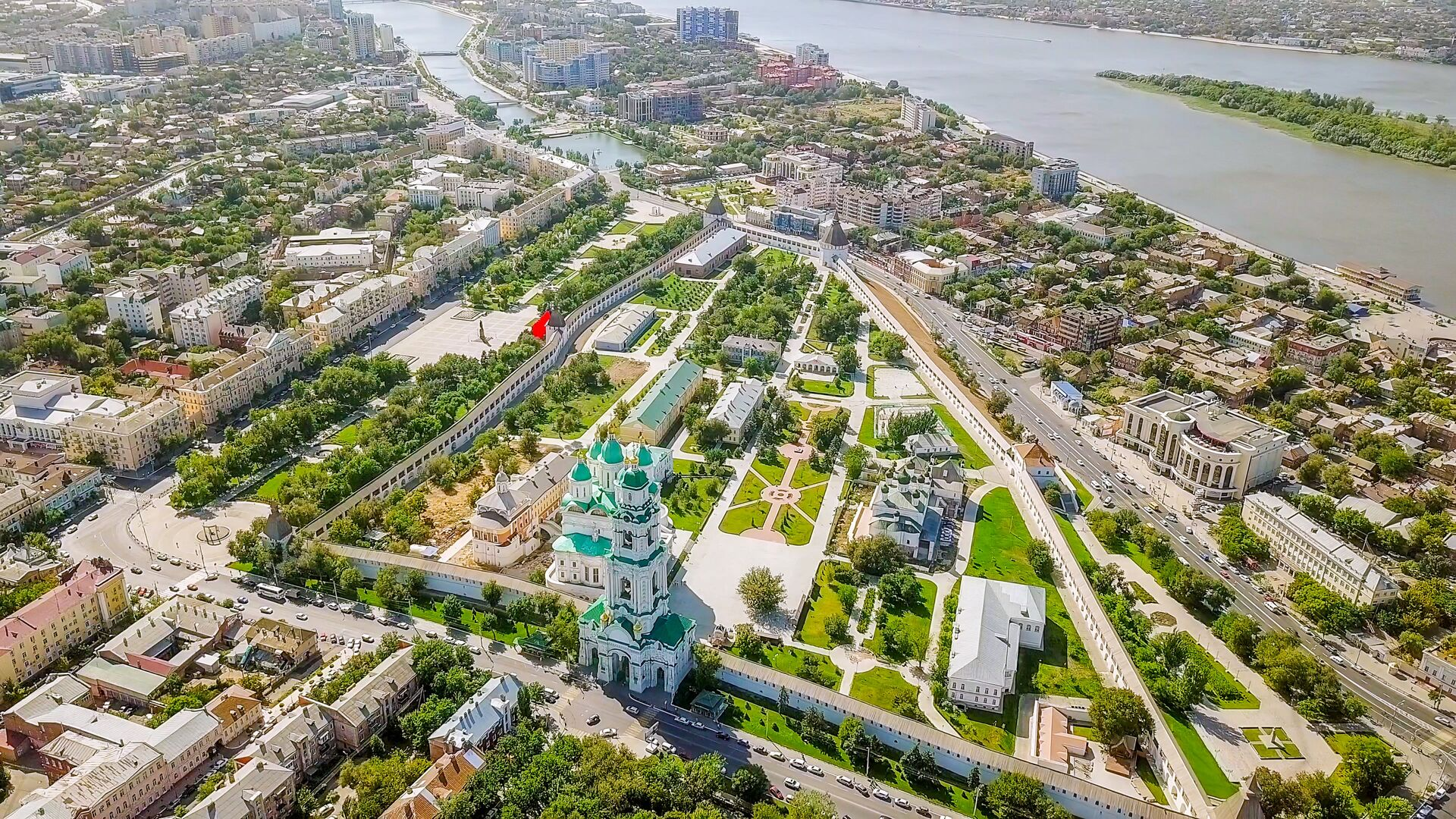 Астраханский кремль - РИА Новости, 1920, 04.08.2021