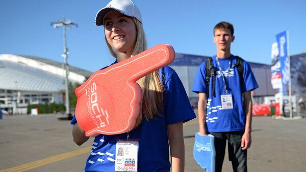 Стартовал набор волонтеров для работы на Гран-при России Формулы 1