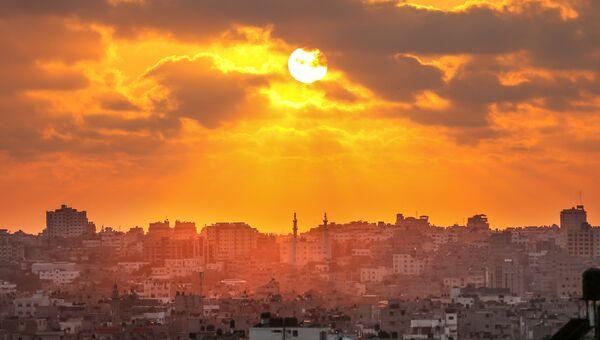 Вид на город Газа. Архивное фото