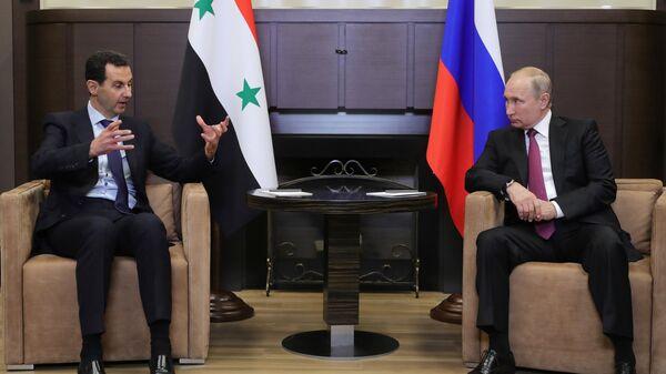 Путин заявил о росте товарооборота с Сирией в три с половиной раза