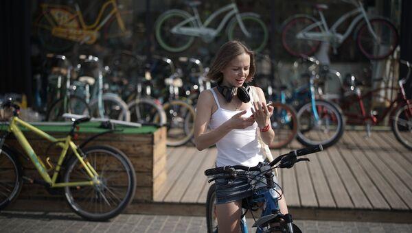 Велопрокат. Архивное фото