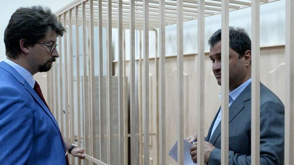 Григорий Пирумов в зале суда