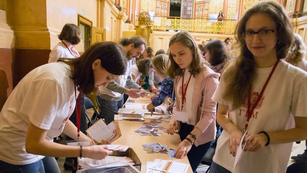 Волонтеры на Ночи музеев-2018